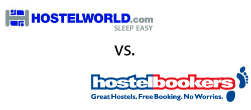Hostelworld vs Hostelbookers
