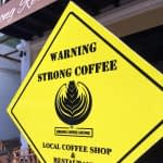 Mekong Coffee sign