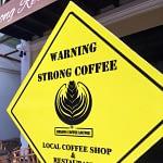 Mekong Coffee sign