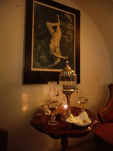 Absinthe at Absintherie Prague
