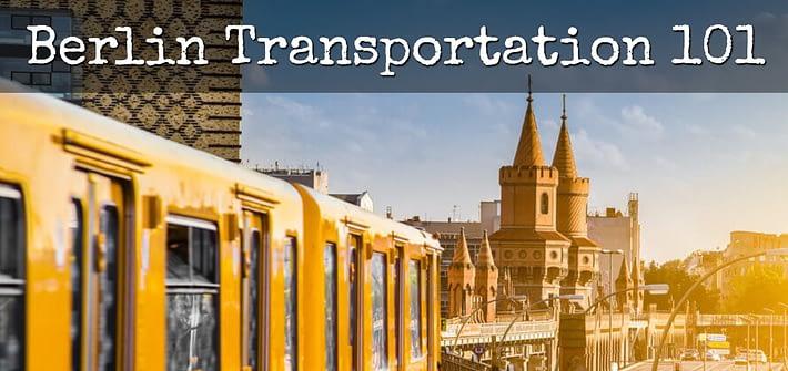 Berlin Transportation 101
